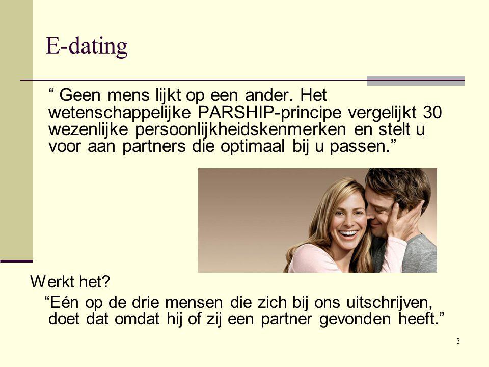 Online dating gestigmatiseerd