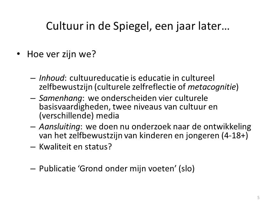 Aansluiting cultuur