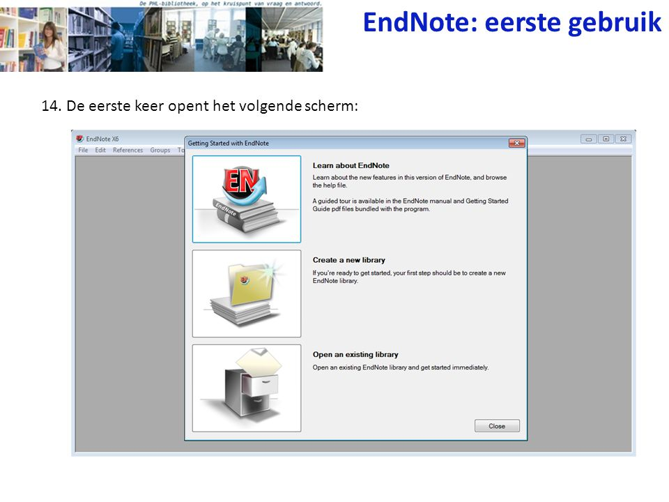 Wegwijs Met Endnote En Reference Manager Ppt Video Online Download