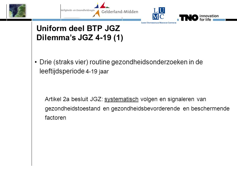 Uniform deel BTP JGZ Dilemma's JGZ 4-19 (1)