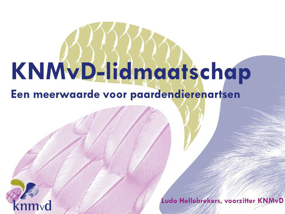 KNMvD-lidmaatschap Wat is de KNMvD