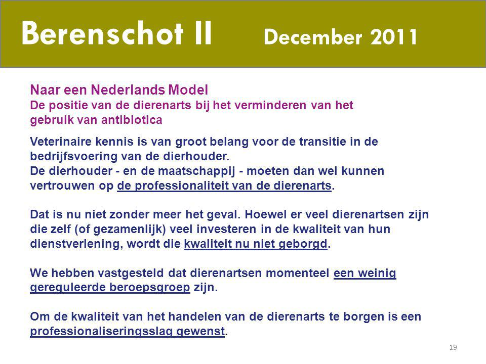 Berenschot II December 2011