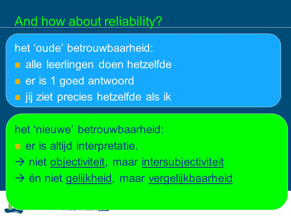 And how about reliability