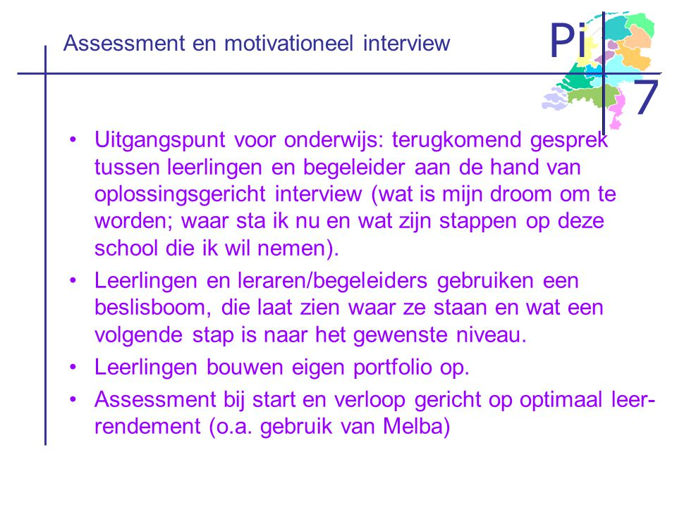 Assessment en motivationeel interview