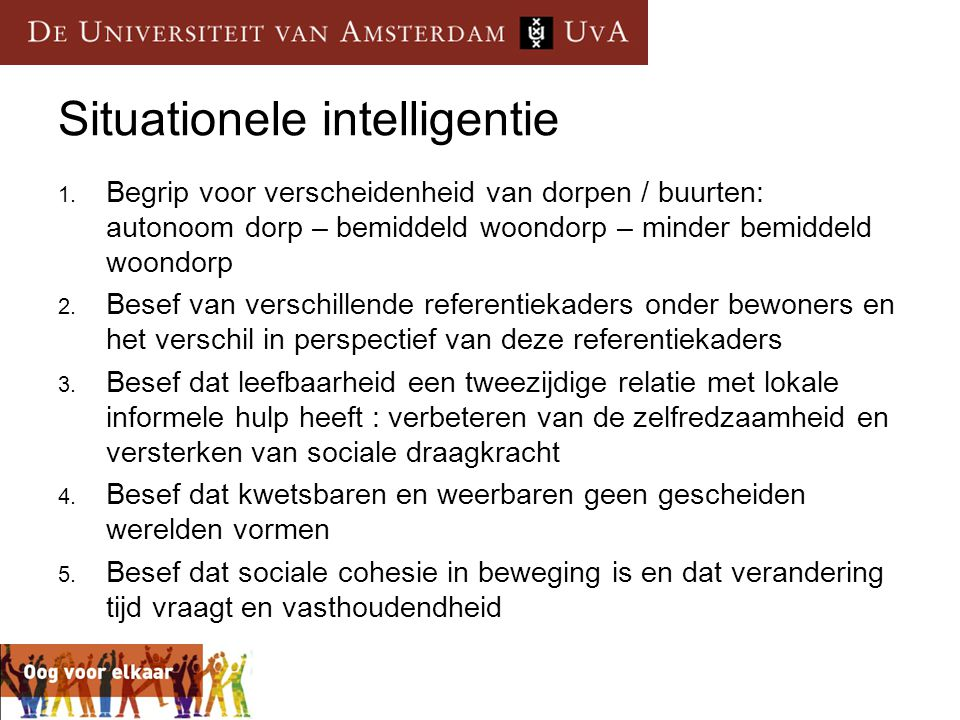 Situationele intelligentie