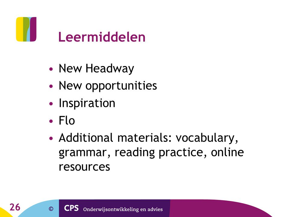 Leermiddelen New Headway New opportunities Inspiration Flo