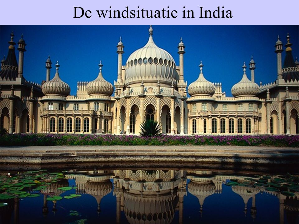 De windsituatie in India
