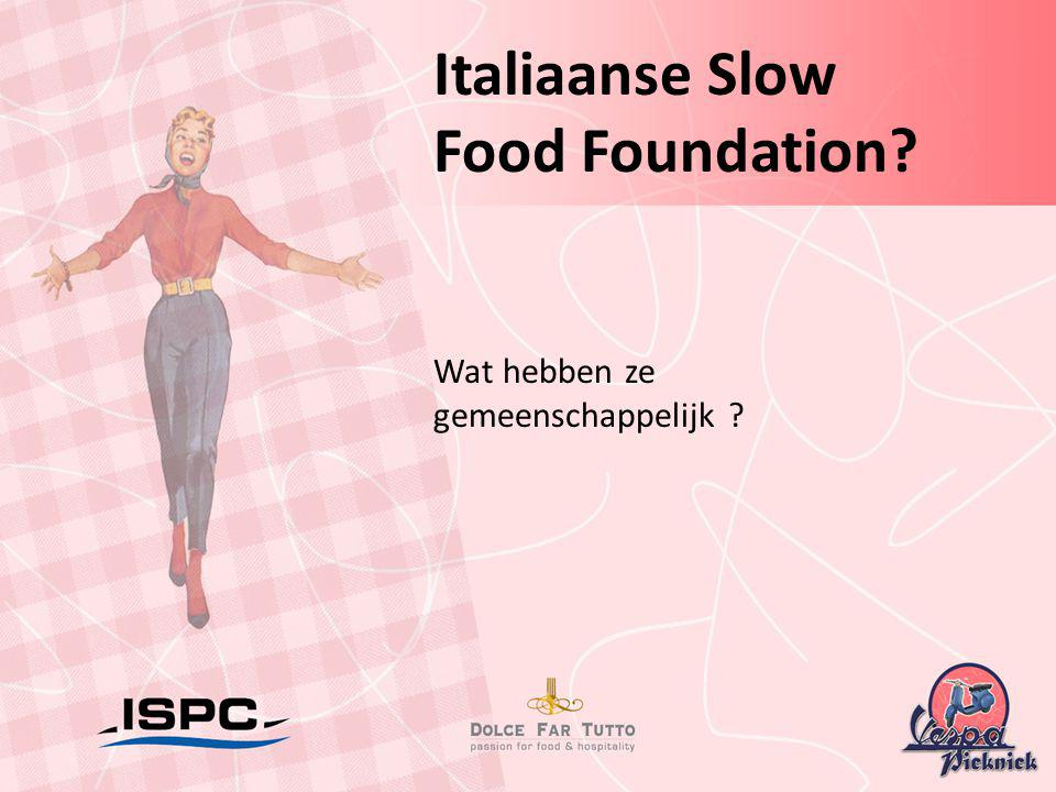 Italiaanse Slow Food Foundation