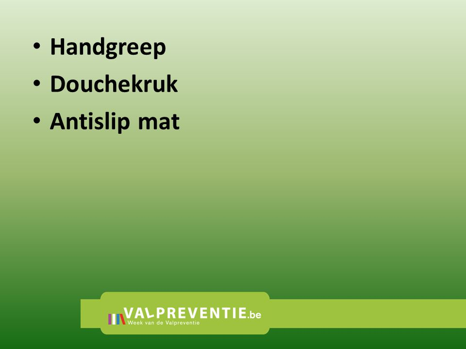 Handgreep Douchekruk Antislip mat