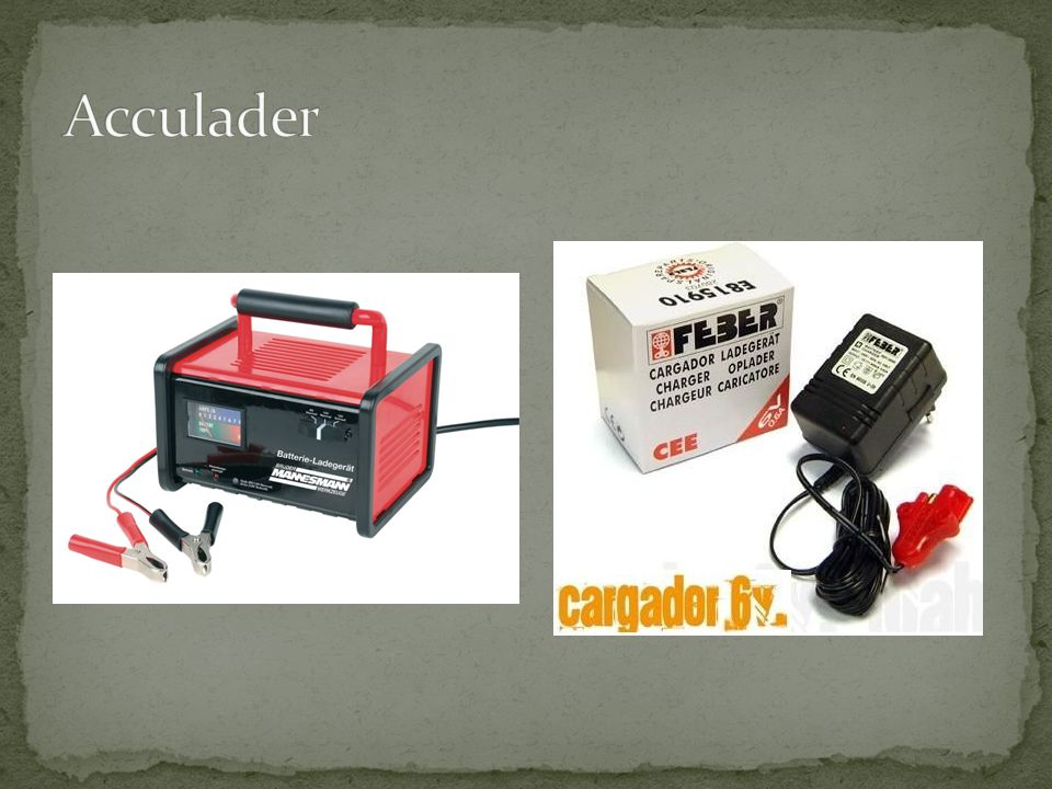 Acculader