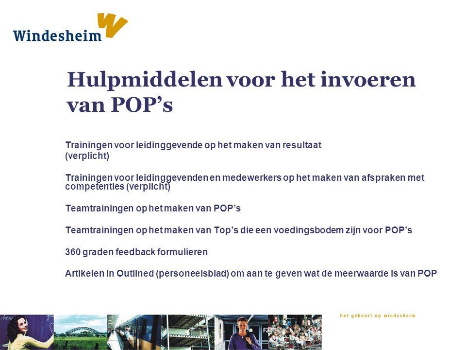 Pop In De Praktijk Van Hogeschool Windesheim Stelling 1 Een Pop