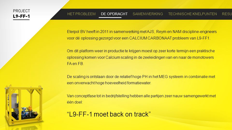 L9-FF-1 moet back on track