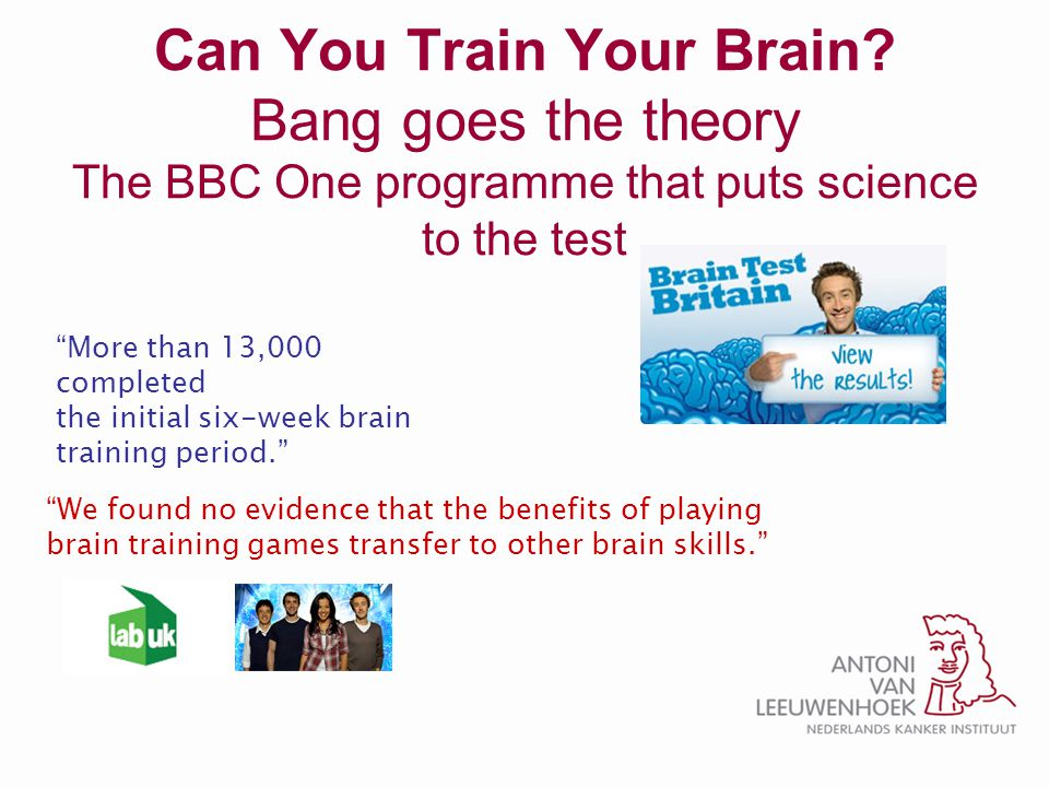 Can You Train Your Brain