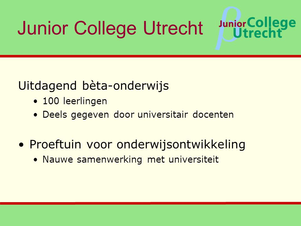 Junior College Utrecht