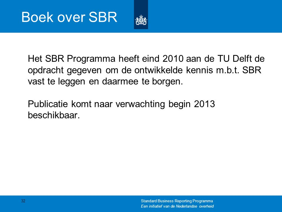 Boek over SBR