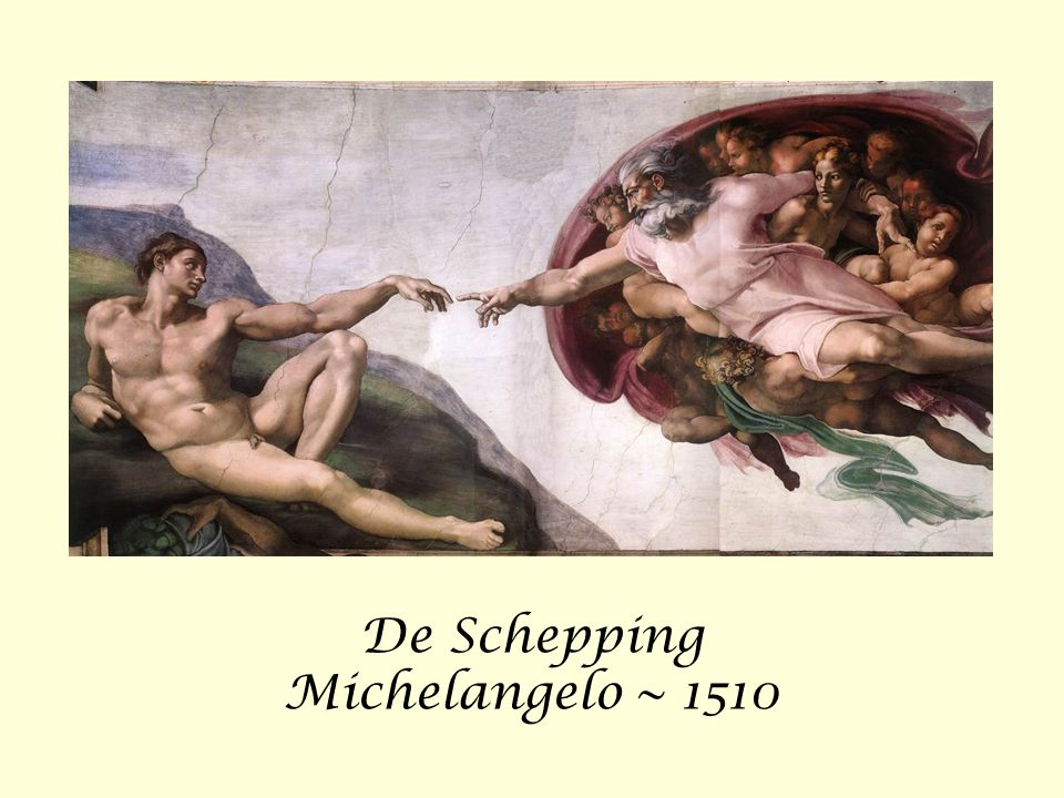 De Schepping Michelangelo ~ 1510