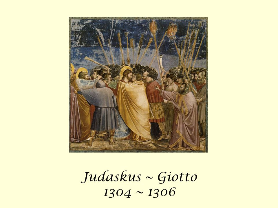 Judaskus ~ Giotto 1304 ~ 1306