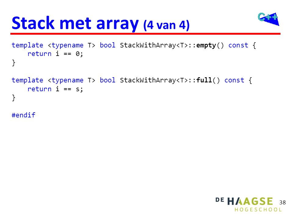 Stacktest #include <iostream> #include stackarray.h