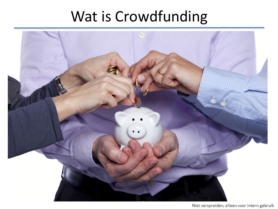 Wat is Crowdfunding