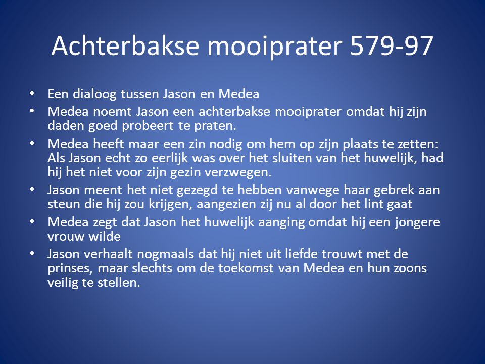 Achterbakse mooiprater 579-97