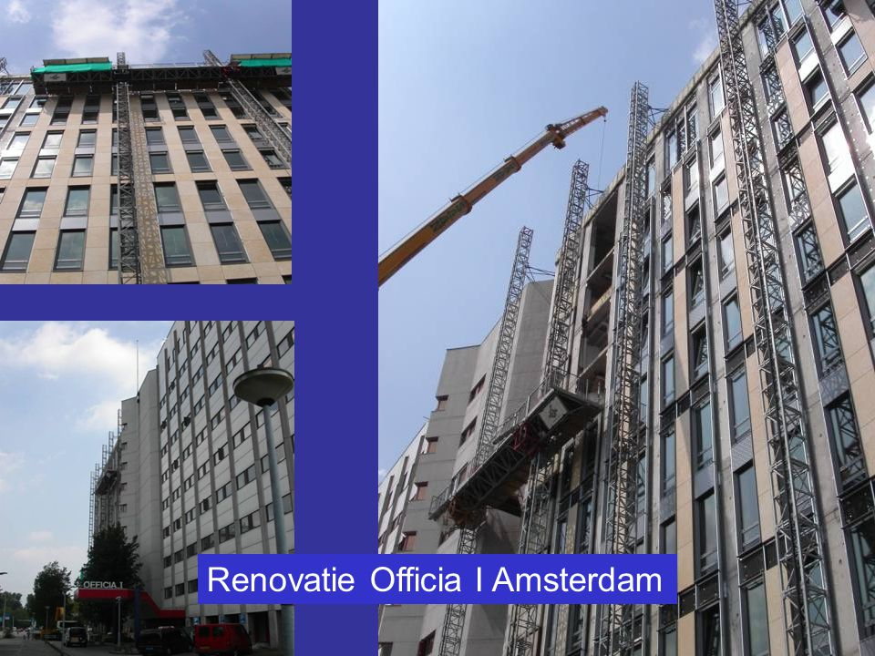 Renovatie Officia I Amsterdam