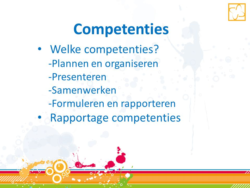 Rapportage competenties