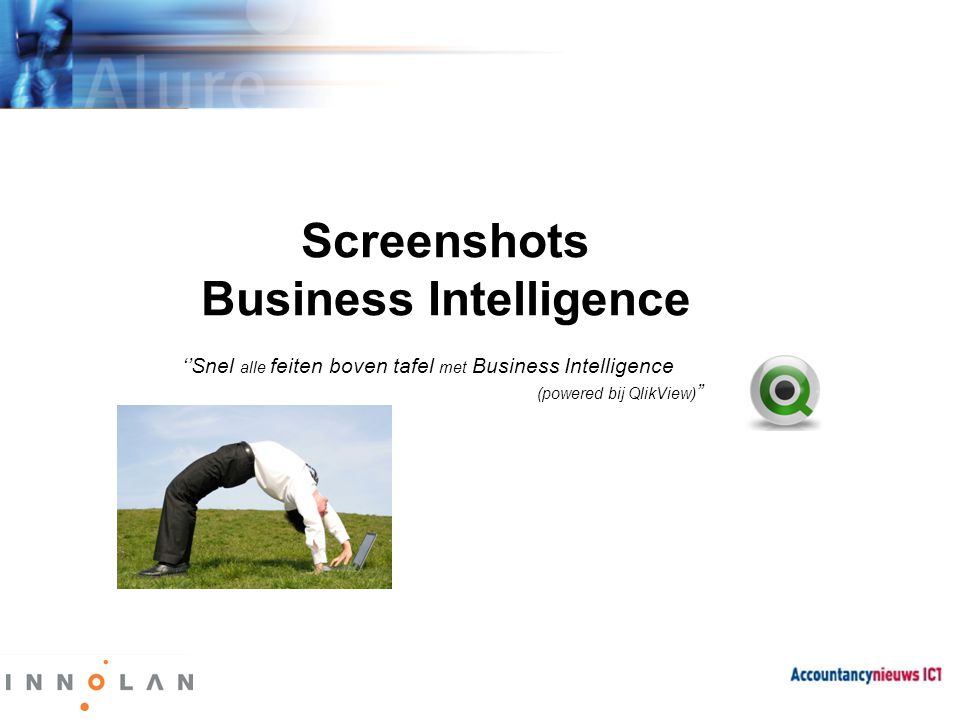 Screenshots Business Intelligence