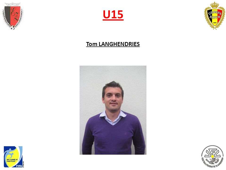 U15 Tom LANGHENDRIES