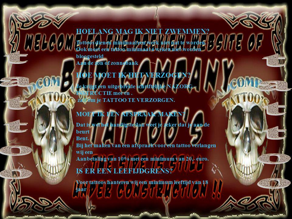Tattoo Tatto Veelgestelde Vragen Over Tatoeages