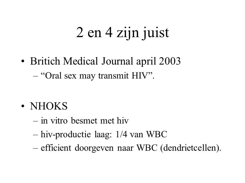 kunt u HIV krijgen van blowjob