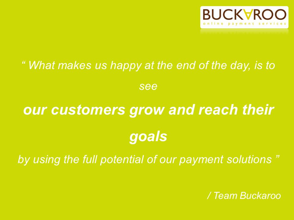 our customers grow and reach their goals