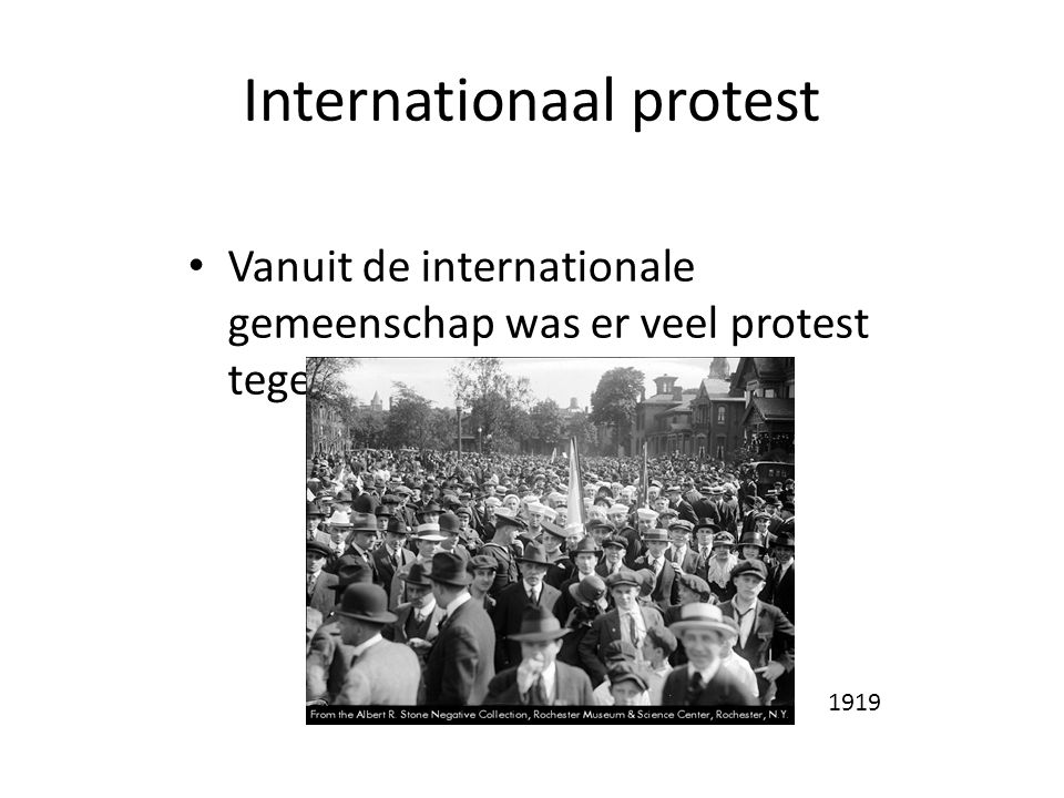 Internationaal protest