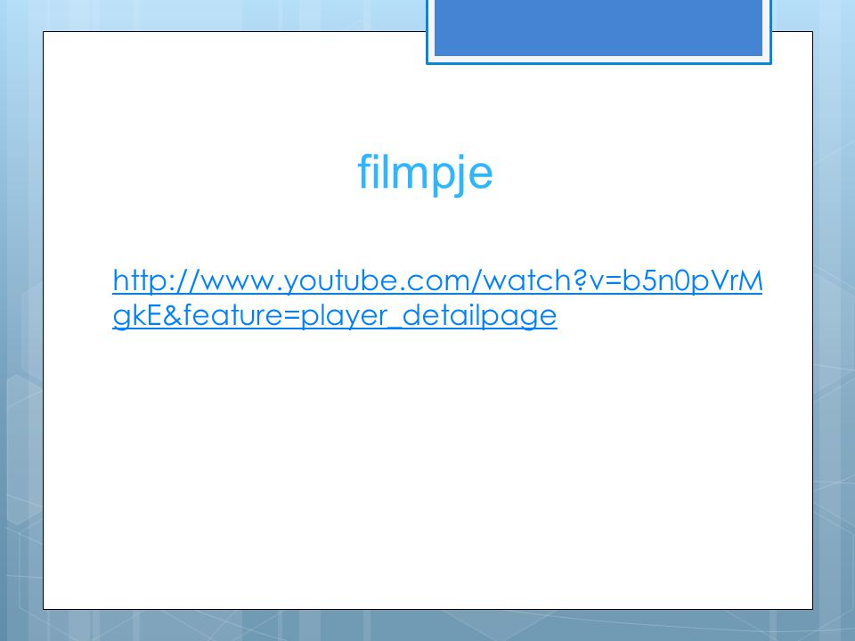 filmpje   v=b5n0pVrMgkE&feature=player_detailpage