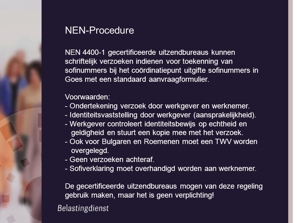 NEN-Procedure