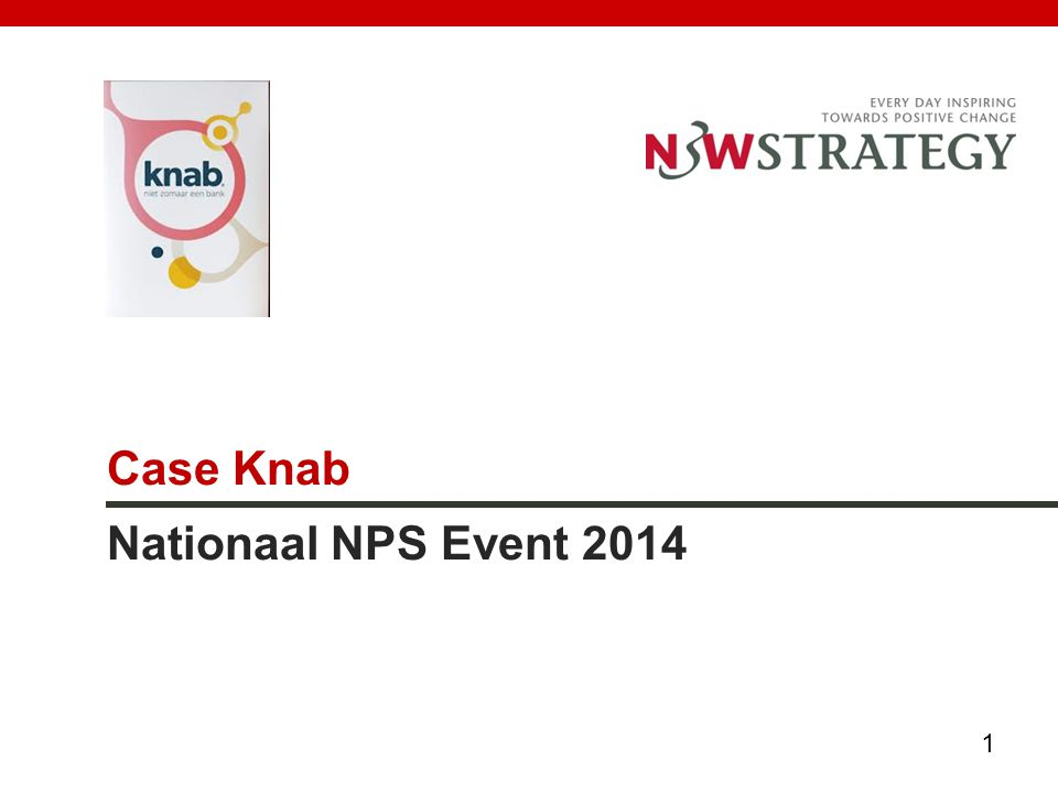 Case Knab Nationaal NPS Event 2014