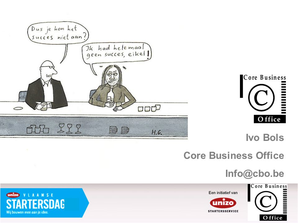 Ivo Bols Core Business Office Info@cbo.be
