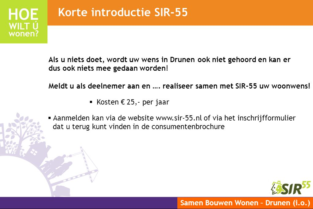 Korte introductie SIR-55