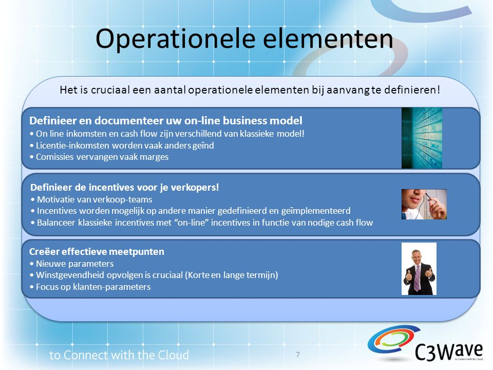 Operationele elementen