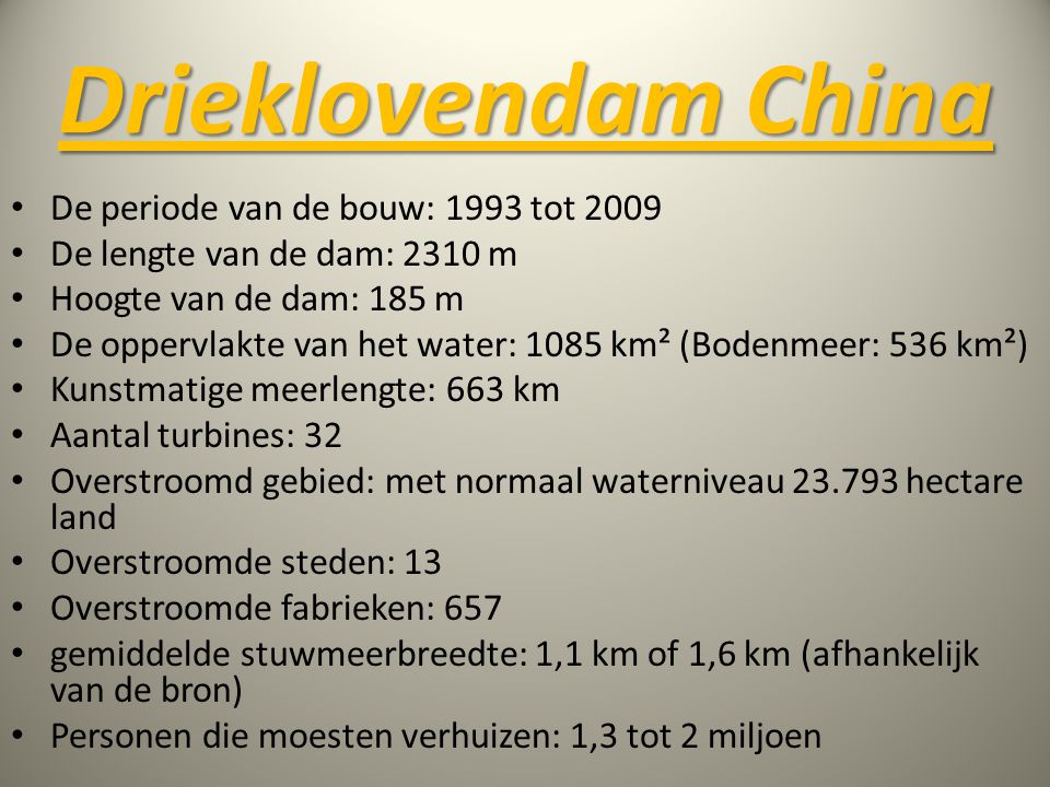 Drieklovendam China De periode van de bouw: 1993 tot 2009