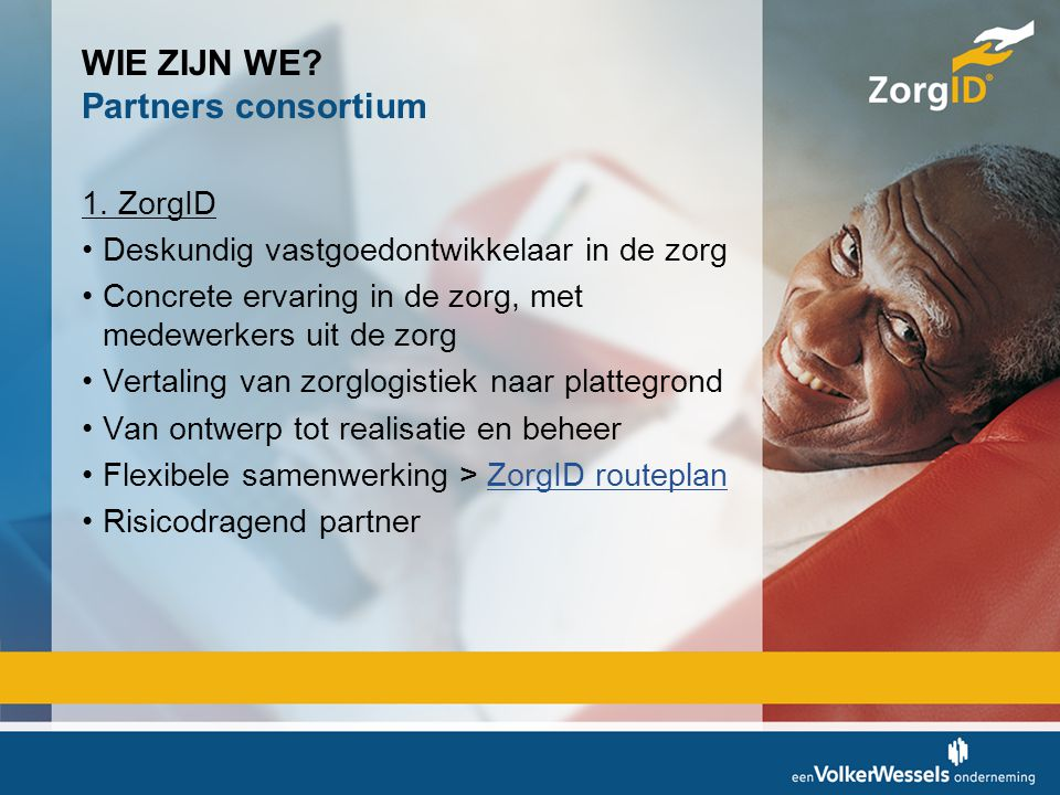 WIE ZIJN WE Partners consortium