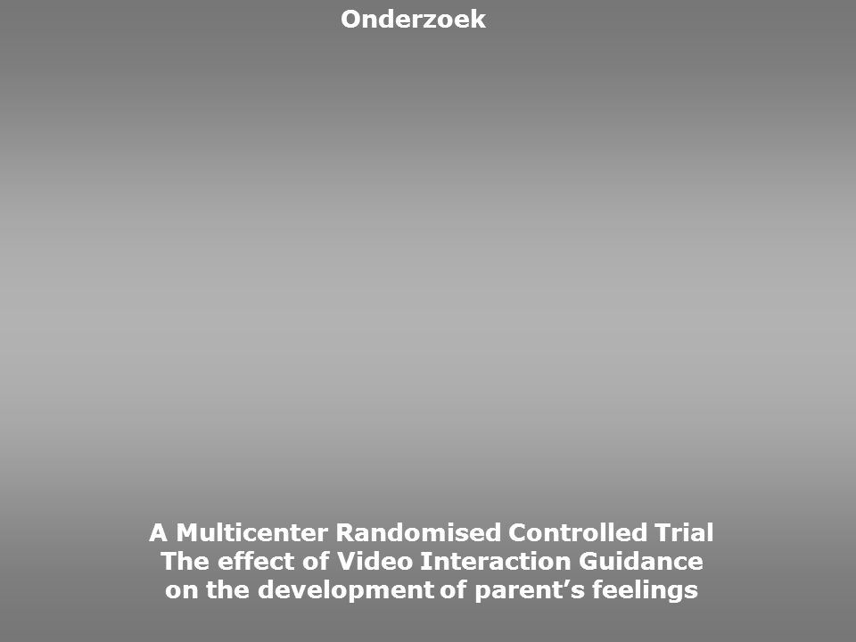A Multicenter Randomised Controlled Trial