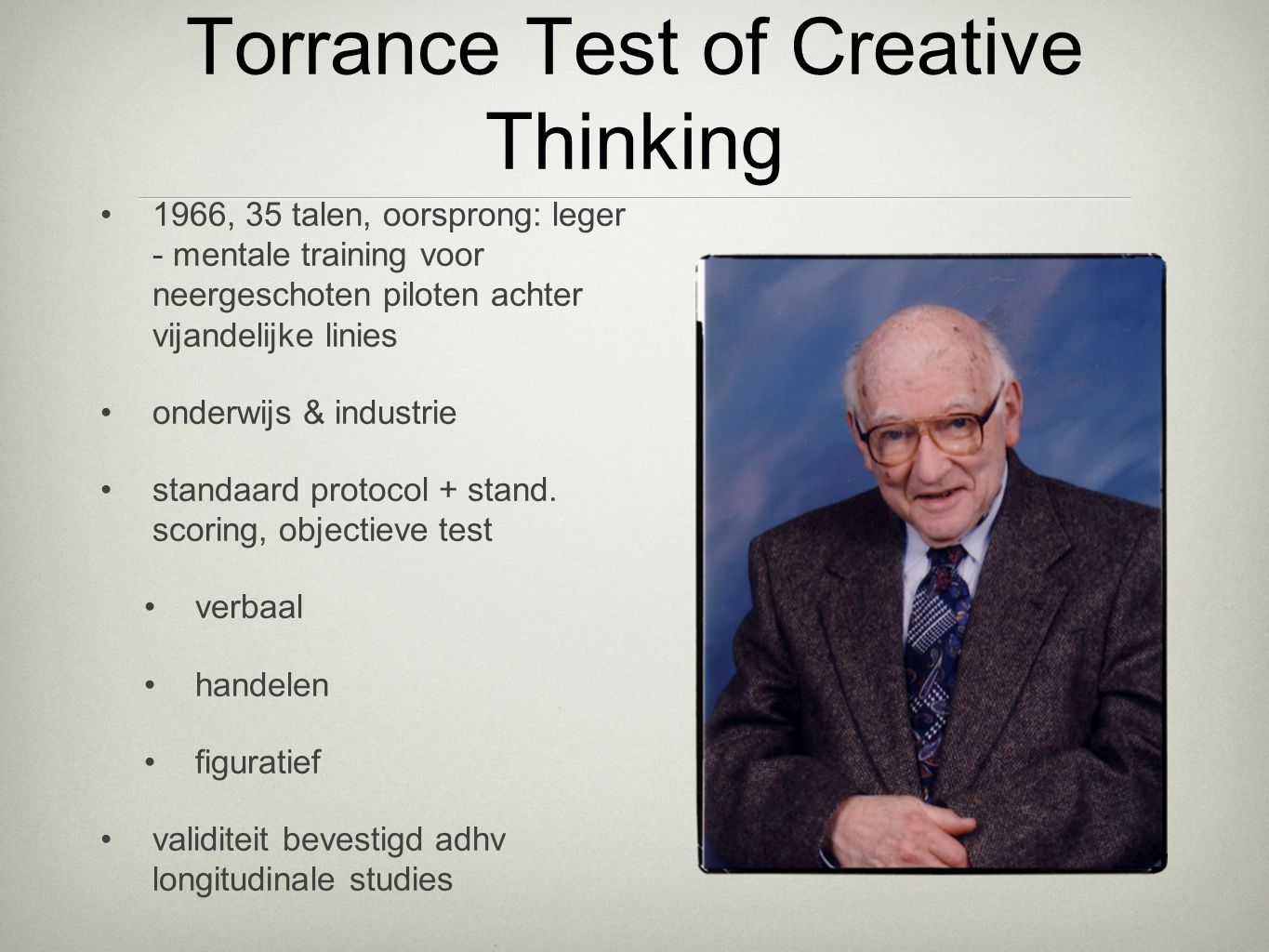 Torrance Test of Creative Thinking