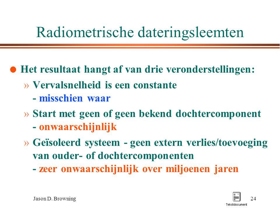 Radiometrische dating laboratoria