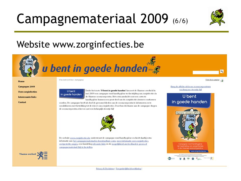 Campagnemateriaal 2009 (6/6)