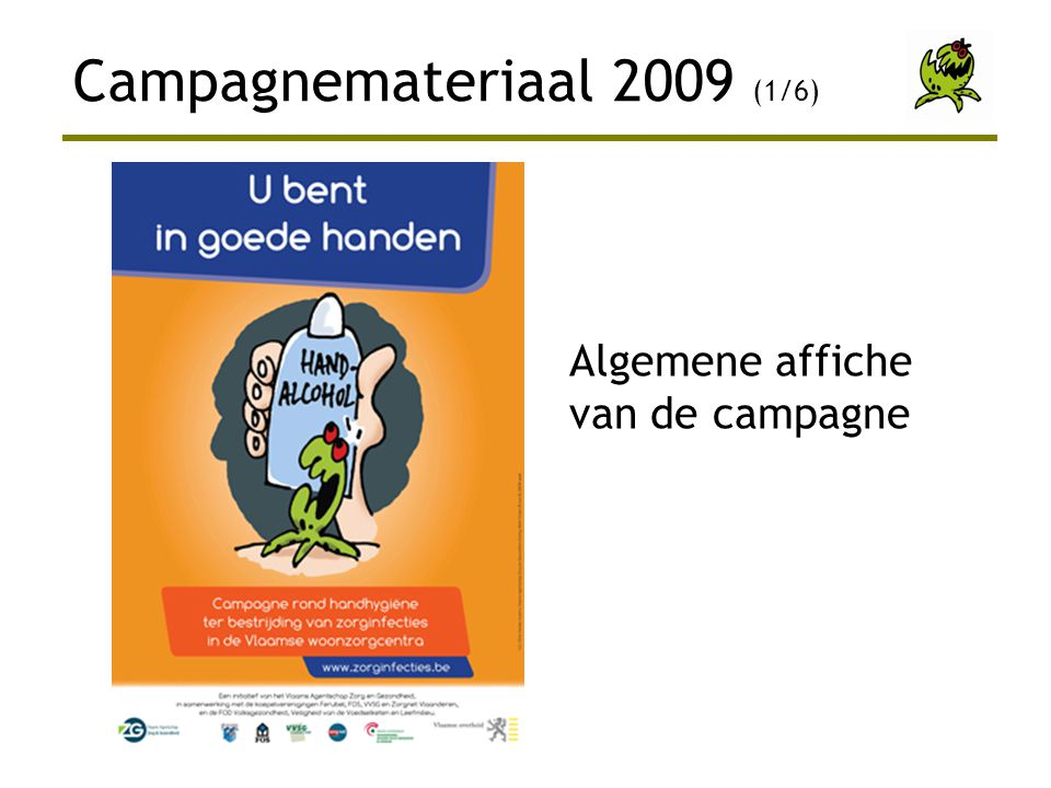 Campagnemateriaal 2009 (1/6)