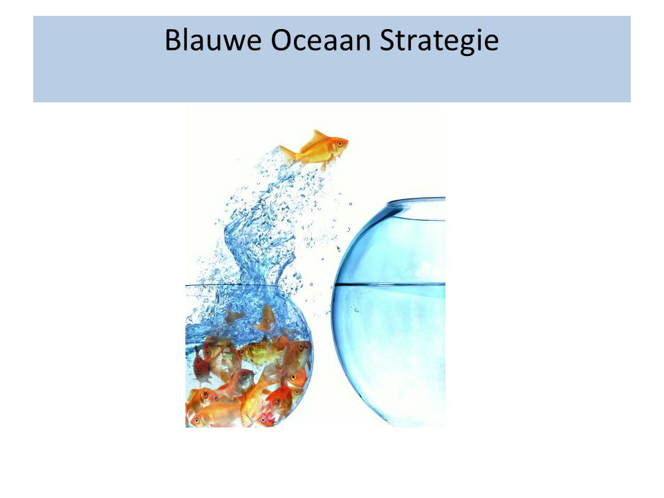 Blauwe Oceaan Strategie