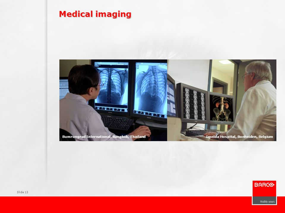 Medical imaging Pictures Typical PACS environment Surgical displays