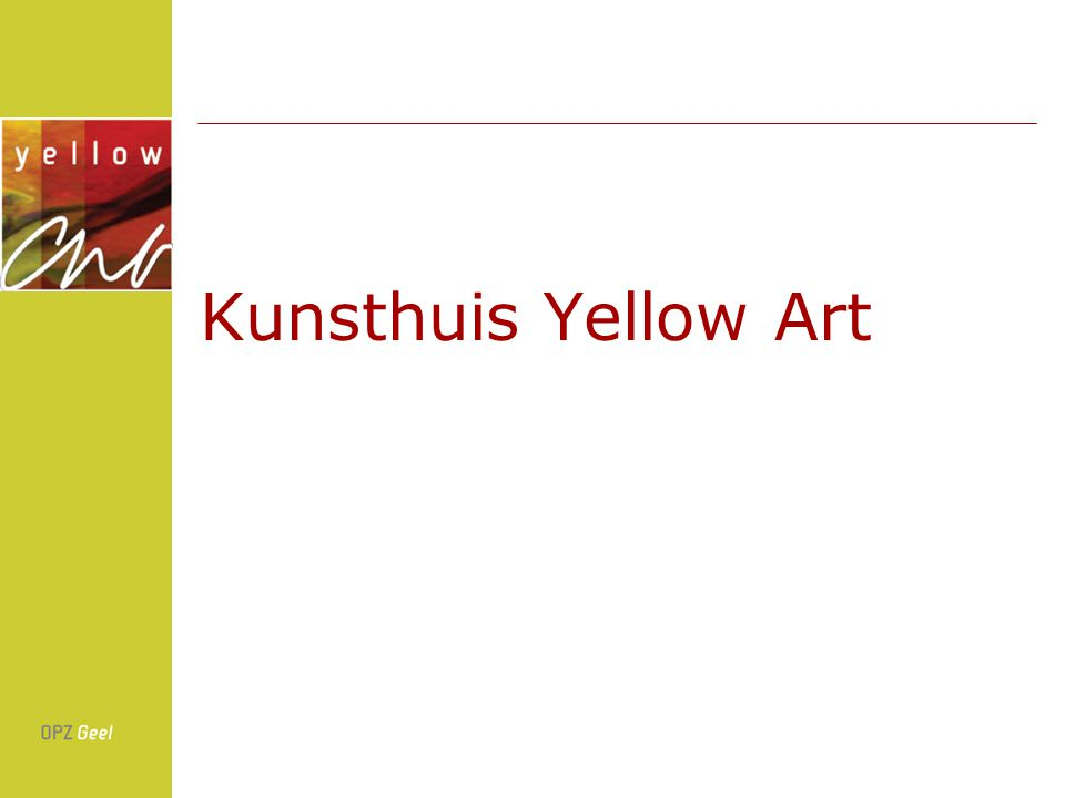 Kunsthuis Yellow Art