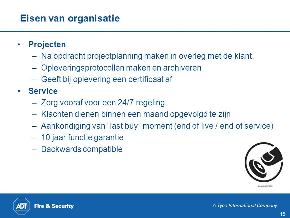 Specificatie opstellen
