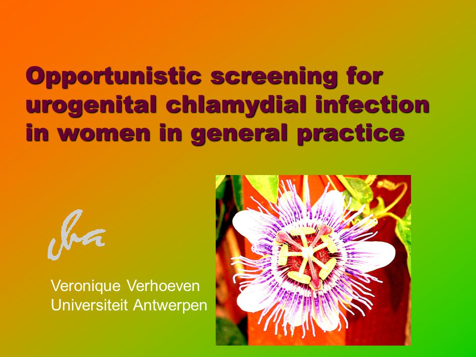 Opportunistic screening for urogenital chlamydial infection in women in general practice